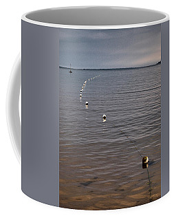 Coffee Mug featuring the photograph The Line by Jouko Lehto