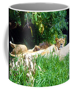 The Lion Awakes Coffee Mug