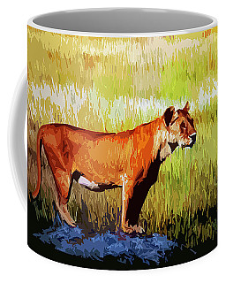 The Lioness Coffee Mug
