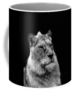 The Lioness Sitting Proud Coffee Mug