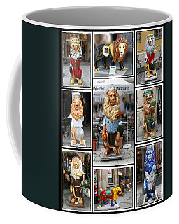 The Lions Of Munich Coffee Mug