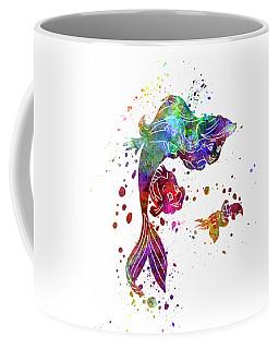 The Little Mermaid Watercolor Art Coffee Mug