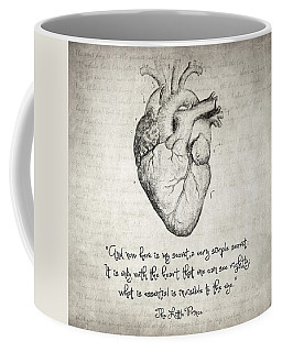 The Little Prince Quote Coffee Mug