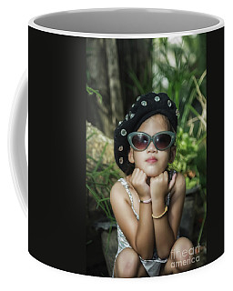 The Little Thinking Girl Coffee Mug