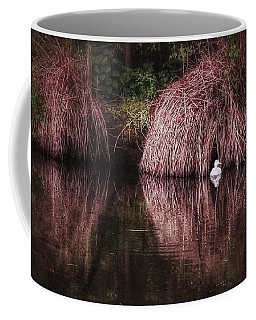 The Little White Duck Coffee Mug by Isabella F Abbie Shores FRSA