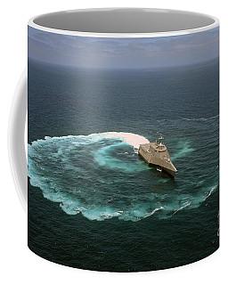 The Littoral Combat Ship Uss Independence Coffee Mug