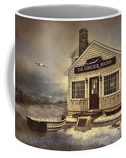 Coffee Mug featuring the photograph The Lobster Pound by Robin-Lee Vieira