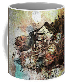 The Log Cabin Coffee Mug by Lenore Senior