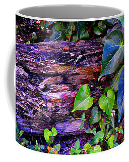The Log In The Woods  Coffee Mug