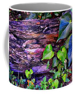 The Log In The Woods  Coffee Mug