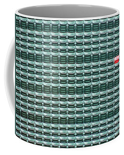 The Lone Red Seat At Fenway Park Coffee Mug