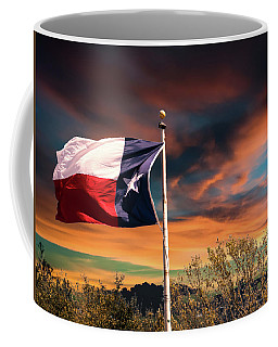 The Lone Star Flag Coffee Mug