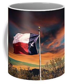 The Lone Star Flag Coffee Mug