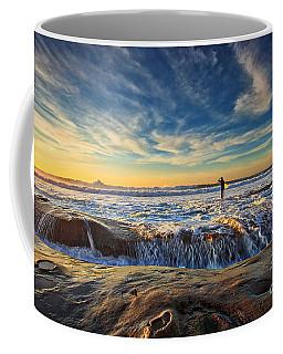 The Lone Surfer Coffee Mug