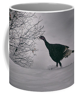The Lone Turkey Coffee Mug by Jason Coward