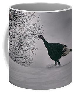 Coffee Mug featuring the photograph The Lone Turkey by Jason Coward