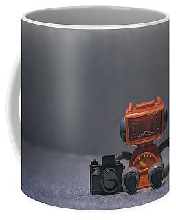 The Lonely Robot Photographer Coffee Mug