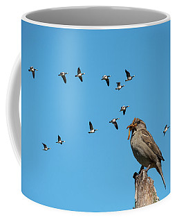 The Lonely Sparrow Coffee Mug
