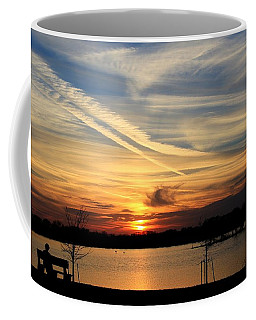 The Lonely Sunset Coffee Mug
