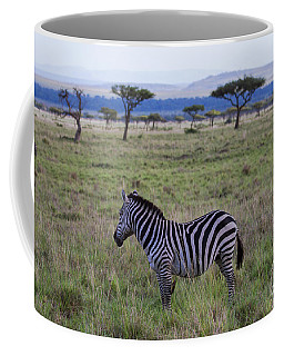 The Lonely Zebra Coffee Mug