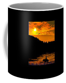 Coffee Mug featuring the photograph The Lonesome Cowboy by Diane Schuster