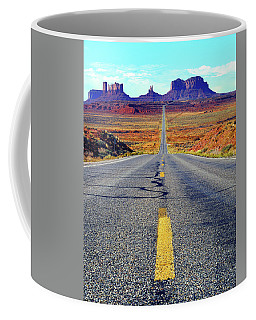 The Long And Winding Road Coffee Mug