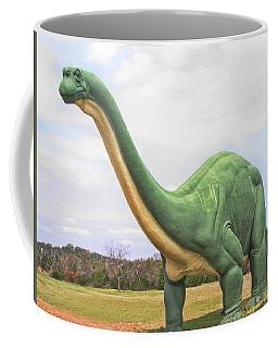 The Long Lost Brontosaurus Coffee Mug