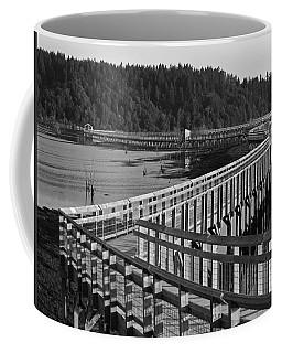 The Long Walk Coffee Mug by I'ina Van Lawick