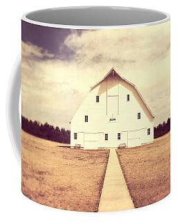 Coffee Mug featuring the photograph The Long Walk by Julie Hamilton