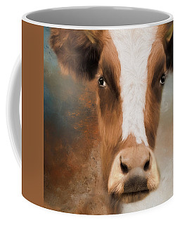 Coffee Mug featuring the photograph The Look by Robin-Lee Vieira
