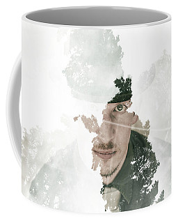 The Looking Glass Forest Man Coffee Mug