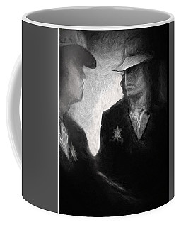 The Looking Glass Coffee Mug by Michael Cleere