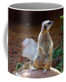 The Lookout - Meerkat Coffee Mug