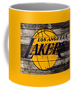 The Los Angeles Lakers W8 Coffee Mug by Brian Reaves
