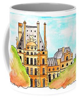 The Louvre Coffee Mug