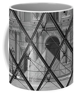 The Louvre From The Inside Coffee Mug
