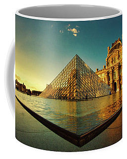 The Louvre Museum Coffee Mug