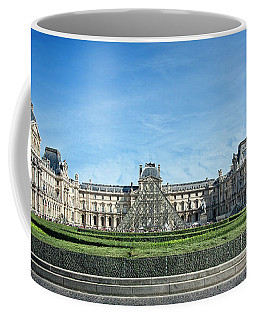 Coffee Mug featuring the photograph The Louvre by Scott Kemper