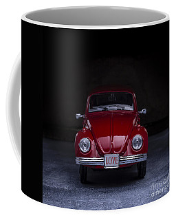 The Love Bug Square Coffee Mug