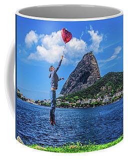 The Love In The Air Coffee Mug