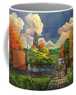 Painting The Seasons In A Dreamers World Coffee Mug by Randy Burns