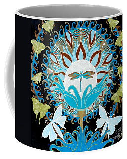 The Luna Moth Journey Of Faith And Love Coffee Mug