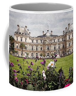 The Luxembourg Palace Coffee Mug by Kai Saarto