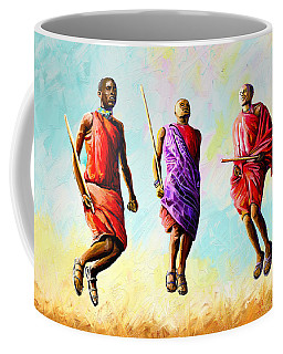 The Maasai Jump Coffee Mug