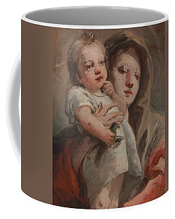 The Madonna And Child With A Goldfinch Coffee Mug