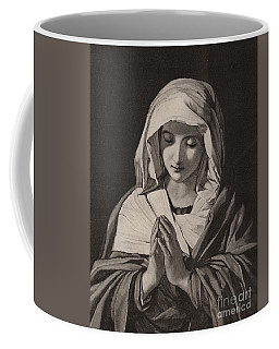 The Madonna In Prayer Coffee Mug
