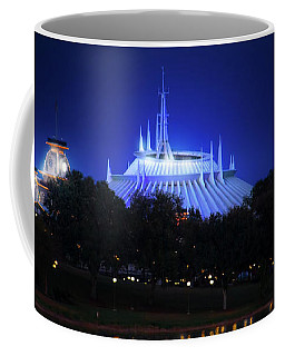 Coffee Mug featuring the photograph The Magic Kingdom Entrance by Mark Andrew Thomas