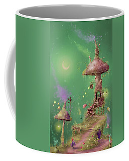 The Mushroom Gatherer Coffee Mug by Joe Gilronan