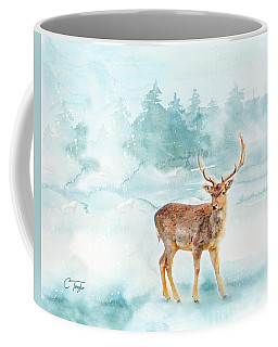 Coffee Mug featuring the painting The Magic Of Winter  by Colleen Taylor