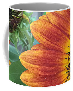 The Magic Sunflower Pollen Coffee Mug by Dorothy Maier